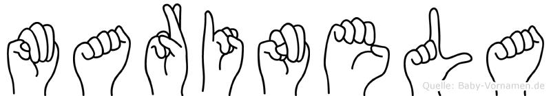 Marinela in Fingersprache für Gehörlose