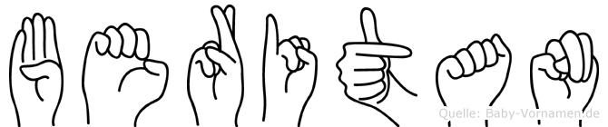 Beritan in Fingersprache für Gehörlose