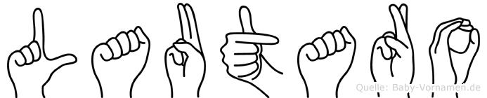 Lautaro in Fingersprache für Gehörlose