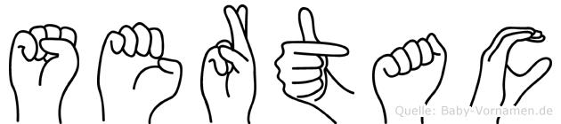Sertac in Fingersprache für Gehörlose