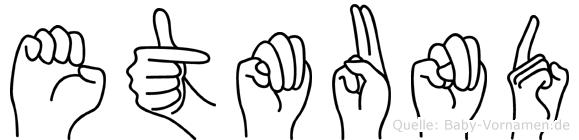Etmund in Fingersprache für Gehörlose