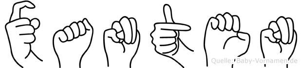 Xanten in Fingersprache für Gehörlose