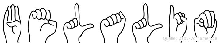 Belalim in Fingersprache für Gehörlose