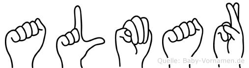 Almar in Fingersprache für Gehörlose