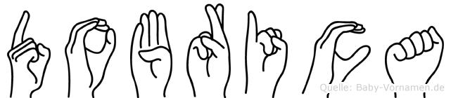 Dobrica in Fingersprache für Gehörlose