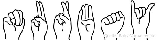 Nurbay in Fingersprache für Gehörlose