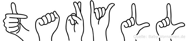 Taryll in Fingersprache für Gehörlose