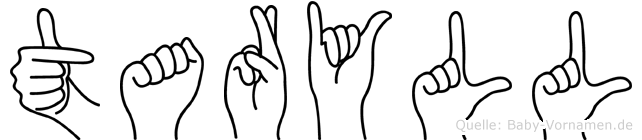 Taryll in Fingersprache f�r Geh�rlose