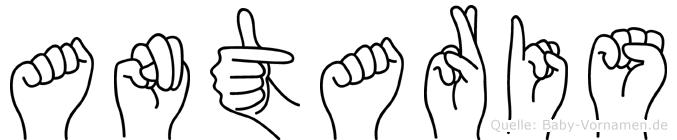 Antaris in Fingersprache für Gehörlose