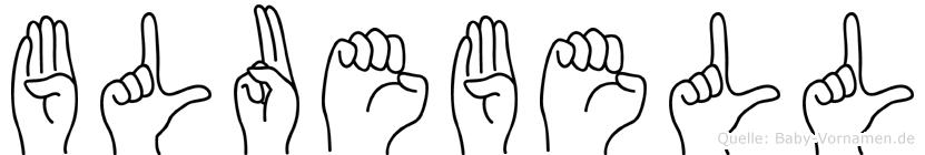 Bluebell in Fingersprache für Gehörlose