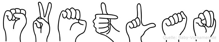 Svetlan in Fingersprache für Gehörlose