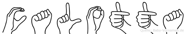 Calotta in Fingersprache für Gehörlose