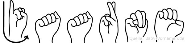 Jaarne in Fingersprache für Gehörlose