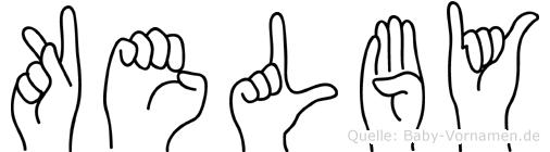 Kelby in Fingersprache für Gehörlose