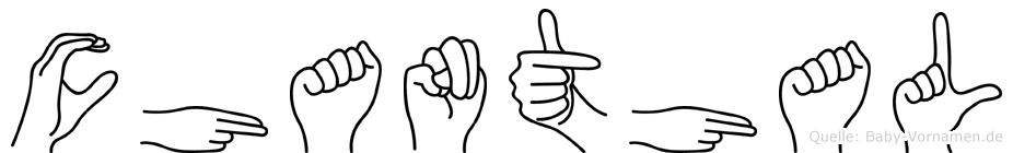 Chanthal in Fingersprache für Gehörlose