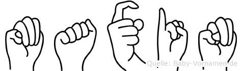 Maxin in Fingersprache für Gehörlose