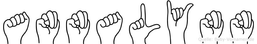 Annalynn in Fingersprache für Gehörlose