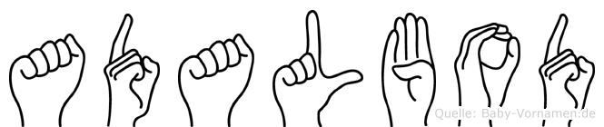 Adalbod in Fingersprache für Gehörlose