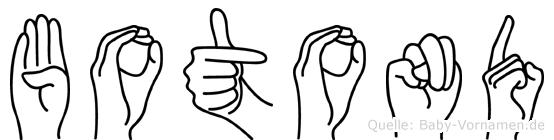Botond in Fingersprache für Gehörlose