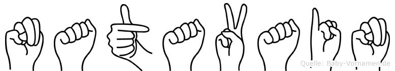 Natavain in Fingersprache für Gehörlose