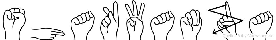 Shakwanza in Fingersprache für Gehörlose