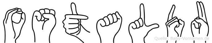 Ostaldu in Fingersprache für Gehörlose