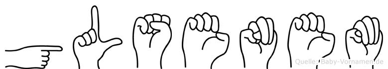 Gülsenem in Fingersprache für Gehörlose