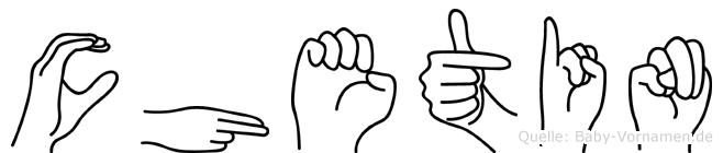 Chetin in Fingersprache für Gehörlose
