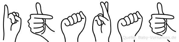 Itarat in Fingersprache für Gehörlose