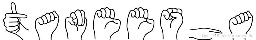 Taneesha in Fingersprache für Gehörlose