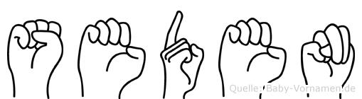 Seden in Fingersprache für Gehörlose