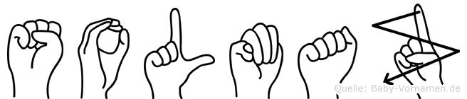 Solmaz im Fingeralphabet der Deutschen Gebärdensprache
