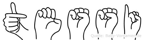 Tessi in Fingersprache für Gehörlose