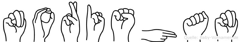 Norishan in Fingersprache für Gehörlose