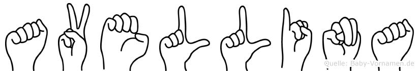 Avellina in Fingersprache für Gehörlose