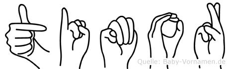 Timor in Fingersprache für Gehörlose