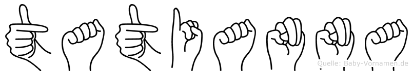Tatianna in Fingersprache für Gehörlose