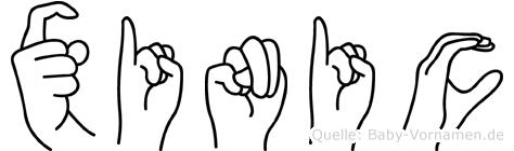 Xinic in Fingersprache für Gehörlose