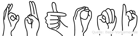 Futomi in Fingersprache für Gehörlose
