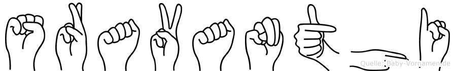 Sravanthi in Fingersprache für Gehörlose