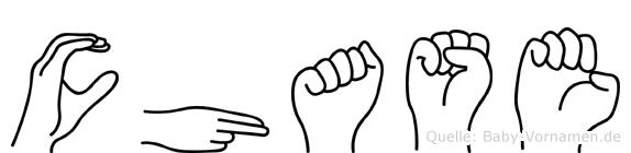 Chase in Fingersprache für Gehörlose