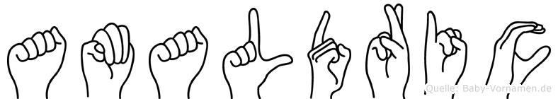 Amaldric in Fingersprache für Gehörlose