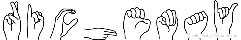 Richemay in Fingersprache für Gehörlose