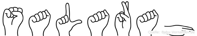 Salarah in Fingersprache für Gehörlose