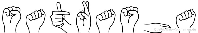 Satrasha in Fingersprache für Gehörlose
