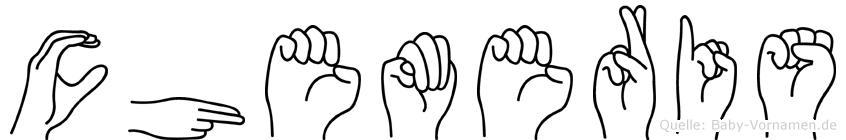 Chemeris in Fingersprache für Gehörlose