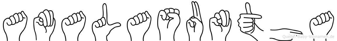 Amalasuntha in Fingersprache für Gehörlose
