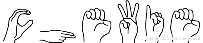 Chewie in Fingersprache f�r Geh�rlose