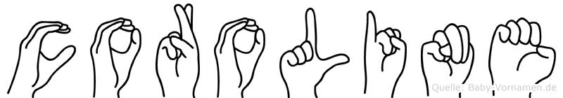 Coroline in Fingersprache für Gehörlose