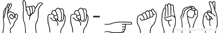 Fynn-Gabor im Fingeralphabet der Deutschen Gebärdensprache
